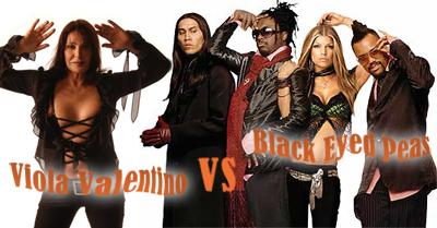 Viola Valentino vs. Black Eyed Peas